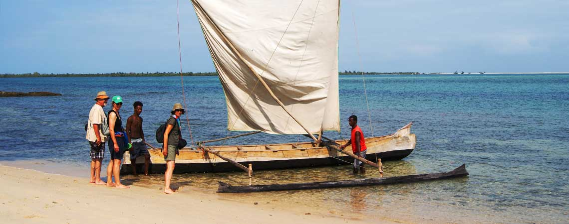 Belo sur Mer, excursion : pirogue